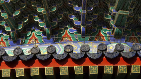 Temple of Heaven in Beijing.China ancient... Stock Video Footage