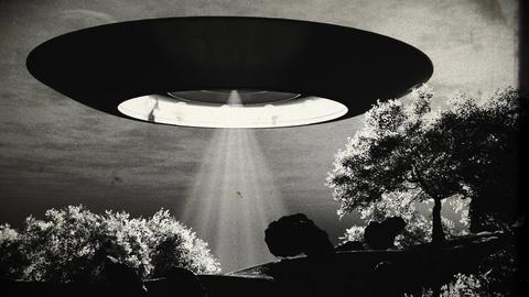 Ufo 12 vintage Stock Video Footage