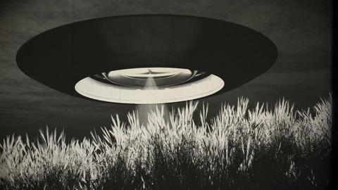 Ufo 16 vintage Animation