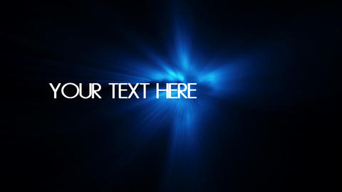 text reveal particular effects After Effects Template
