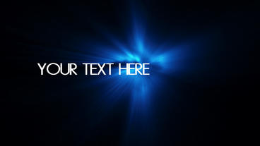 text reveal particular effects After Effects Project