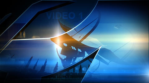 video logo After Effects Template