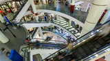 4K - Shopping Mall Timelapse stock footage