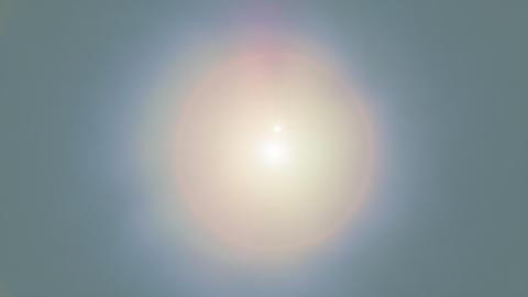 Desert Sun Looping Animation Animation