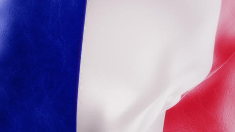 Slow Motion French Flag Intro Animation
