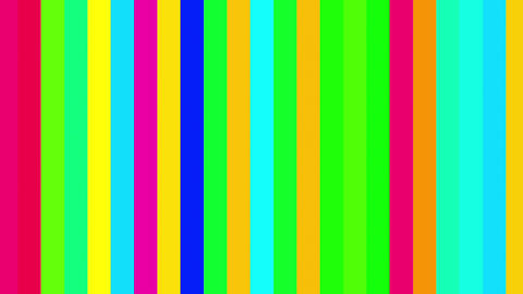 Color Vertical Columns Stripes Shifting Cycle Abstract Motion Background Loop Animation