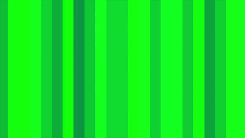 Green Vertical Columns Stripes Shifting Cycle Abstract Motion Background Loop Animation