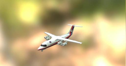 Ba 146 3D Model