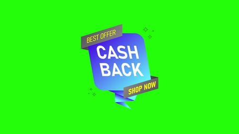 Banner cash back money tax money banner money cash back refund offer refund icon refund Animation