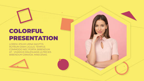 Colorful Presentation After Effects Template