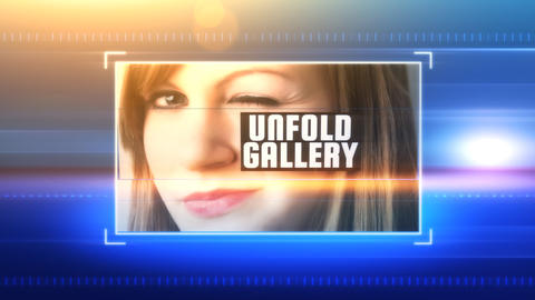 Unfold Gallery: After Effects Template After Effects Template