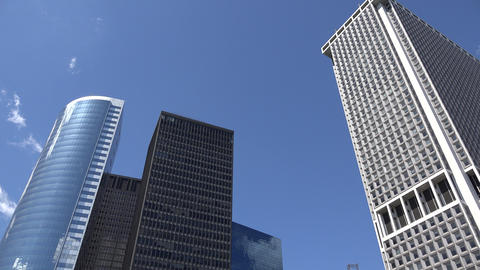 Skyscrapers And Office Buildings Live Action