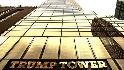 Trump Tower Gold Pan Up Archivo
