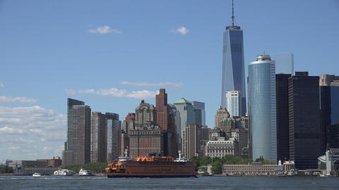 Staten Island Ferry Nyc Live Action
