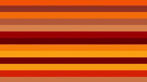 Warm Red Horizontal Bars Stripes Shifting Cycle Abstract Motion Background Loop Animation