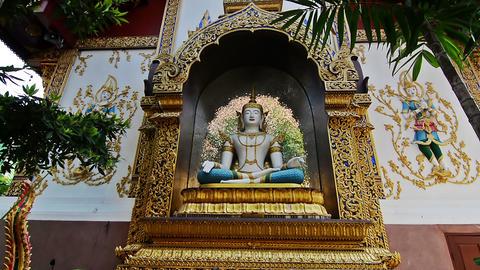 Wat Saen Muang Ma Luang (Wat Hua Khuang) temple 영상물