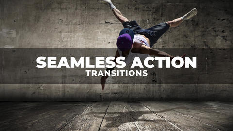 Seamless Action Transitions Apple Motion Template