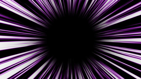 Animation of pueple high-speed radial background.Footage Animation