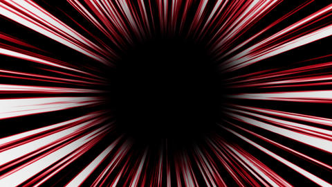 Animation of red high-speed radial background.Footage Animation