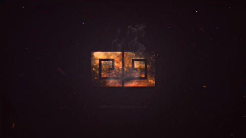 LOGO IN FIRE After Effects Template