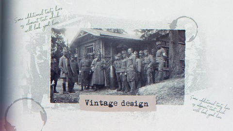 Vintage Presentation After Effects Template