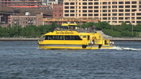 New York Harbor Passenger Ferry Live Action