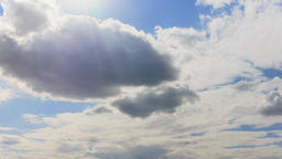 Actively changing clouds, Day Footage