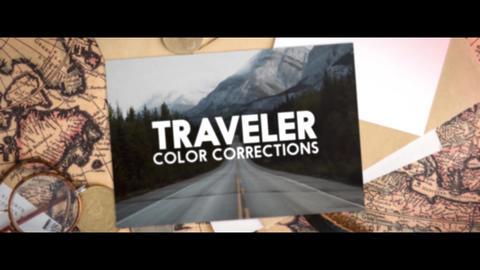 Traveler Color Correction Apple Motion Template