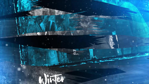 Winter Slideshow | Christmas And New Year Story After Effects Template