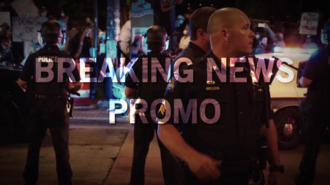 Breaking News Promo After Effects Template