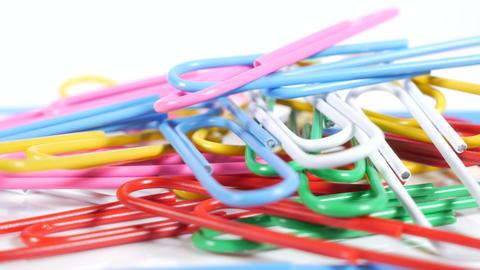 Color paper clip023 Live Action