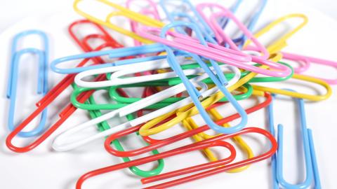 Color paper clip024 Live Action