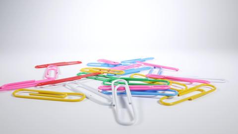 Color paper clip026 Live Action