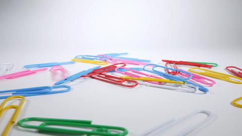 Color paper clip027 Live Action