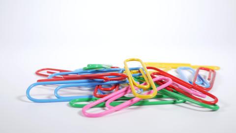 Color paper clip001 Live Action