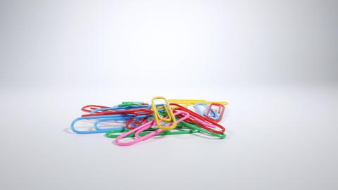 Color paper clip002 Live Action