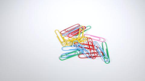 Color paper clip005 Live Action
