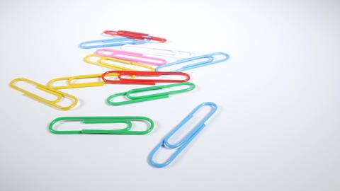 Color paper clip009 Live Action