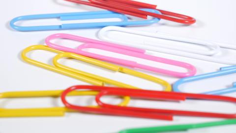 Color paper clip010 Live Action