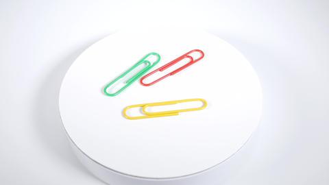 Color paper clip016 Live Action