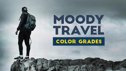 Moody Travel Color Grades Apple Motion Template
