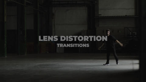 Lens Distorion Transitions Apple Motion Template