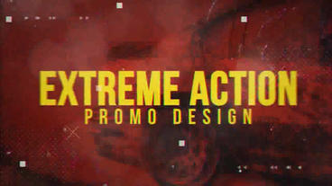 Extreme Action Promo After Effects Projekt