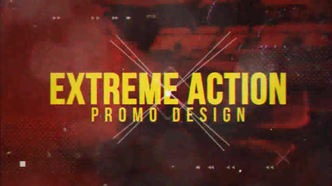 Extreme Action Promo After Effects Template