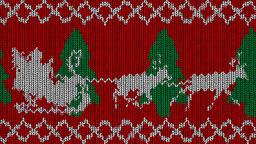 Knitted Holidays Loop CG動画