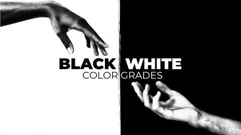 Black and White Color Grades