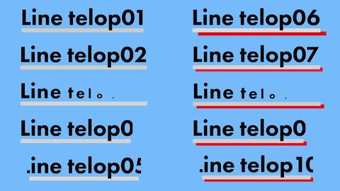 30Line telop