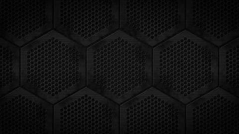 Hexagon Metal BG03 BK【54】 Animation