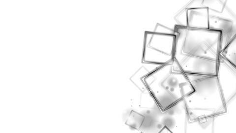 Black glossy squares abstract video animation Animation