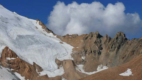 Giant Glacier Clouds 4K Animation